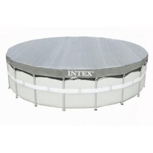 Тент ( покрывало ) Intex арт. 28040 для каркасных бассейнов 488 см