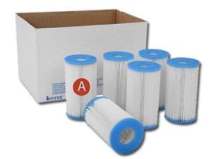 Картридж Intex (тип А), упаковка 6 шт. арт. 29900