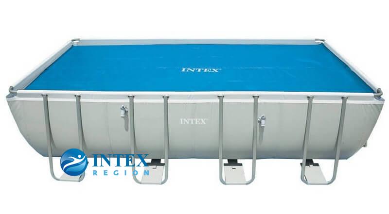 Термопокрывало SOLAR Pool Cover Intex арт. 29026 для  бассейнов  549х274 см