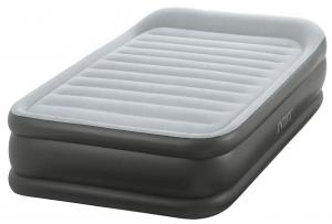 64432 Надувная кровать Deluxe Pillow Rest Raised Bed 99х191х42см, встроенный насос 220V