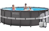 Бассейн каркасный Intex Ultra Frame Pool - 26336.28336 549х132 см