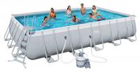 Бассейн каркасный Bestway Rectangular Frame Pool - 56471.56278 671х366х132 см