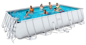 Бассейн каркасный Bestway Rectangular Frame Pool - 56272 671х366х132 см