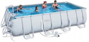 Бассейн каркасный Bestway Rectangular Frame Pool - 56481 488х274х122 см