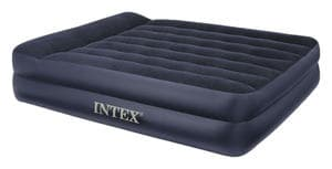 66702 Надувная кровать Pillow Rest Raised Bed152х203х42см с подголовником, встроенный насос 220V