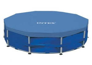 Тент ( покрывало ) Intex арт. 28030 для круглых каркасных бассейнов  305 см