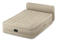 64460 Надувная кровать Headboard Bed 152х229х79см со спинкой, встроенный насос 220V