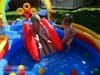 Игровой центр-бассейн Радуга Intex арт.57453 297х193х135см