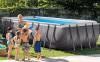 Бассейн каркасный Intex Rectangular Ultra Frame Pool (7в1) - 26352.28352 549х274х132 см