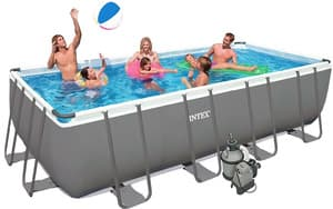Бассейн каркасный Intex Rectangular Ultra Frame Pool (7в1) - 26352.28352 549х274х132 см