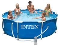 Бассейн каркасный Intex Metal Frame Pool - 28202 305х76 см
