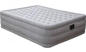 66958 Надувная кровать Ultra Plush Bad 152х203х46см, встроенный насос 220V