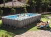 Бассейн каркасный Intex Rectangular Ultra Frame Pool - 26362.28362 732х366х132 см