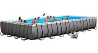 Бассейн каркасный Intex Rectangular Ultra Frame Pool - 26372.28372 975х488х132 см