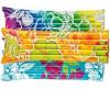 Надувной матрас с подголовником Intex арт.59720 183х69см, 3 цвета