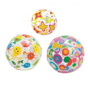 Мяч надувной Lively 3 вида Intex арт.59040 51см, от 3-х лет