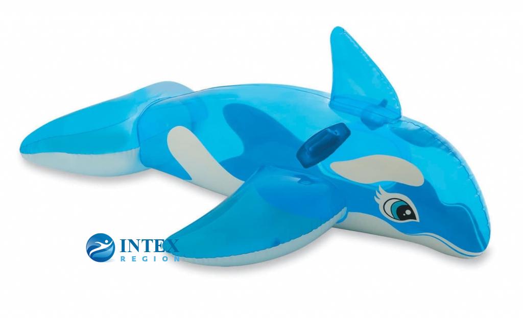 Надувная игрушка Касатка Intex арт.58523, 163х76см, от 3 лет