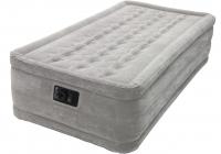 67952 Надувная кровать Ultra Plush Bad 99х191х46см, встроенный насос 220V