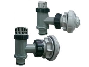 Плунжерные клапана Intex с насадками полный комплект арт. 70006 ( 38 мм)
