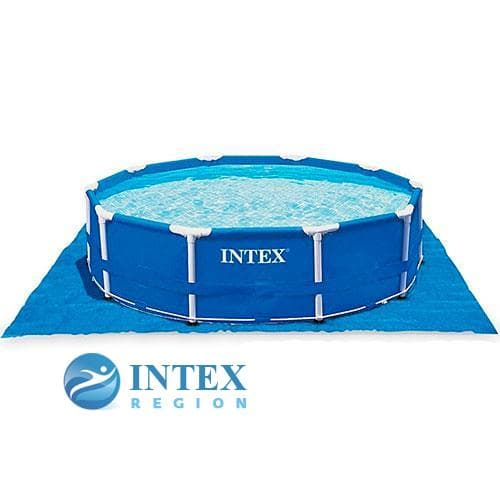 Подстилка Intex 28048 под бассейны 472х472 см