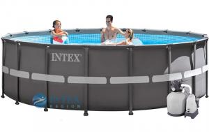 Бассейн каркасный Intex Ultra XTR Frame - 26340 732х132 см