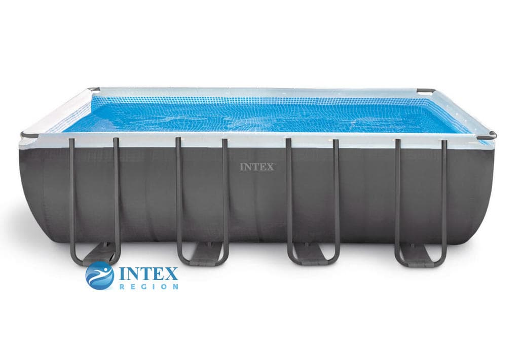 Бассейн каркасный Intex Rectangular Ultra Frame Pool 26356-01 549х274х132 см
