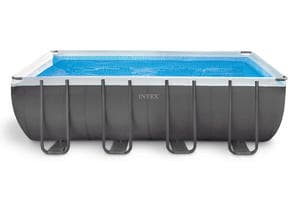 Бассейн каркасный Intex Rectangular Ultra Frame Pool 26356-01 549х274х132 см