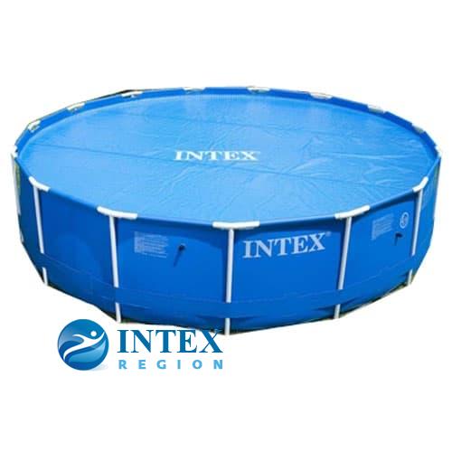 Термопокрывало SOLAR Pool Cover Intex арт. 29023 для круглых бассейнов 457 см
