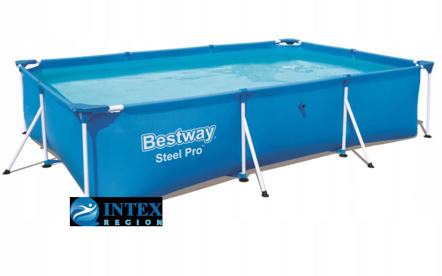 Каркасный бассейн Bestway 56404 300х201х66 Steel Pro