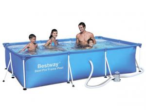 Каркасный бассейн Bestway 56411 300х201х66 Steel Pro