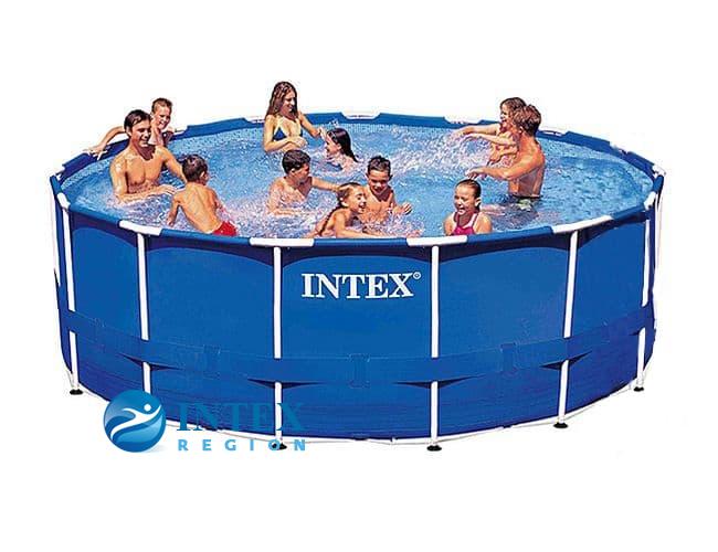 Бассейн каркасный Intex Metal Frame Pool - 28236 457х122 см