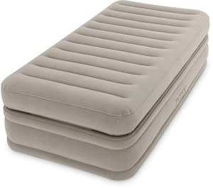 64444 Надувная кровать Prime Comfort Elevated Airbed 99х191х51см, встроенный насос 220V