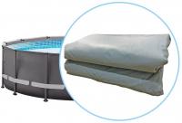 Чаша для каркасного бассейна 488х122 см Intex Ultra Frame 12434