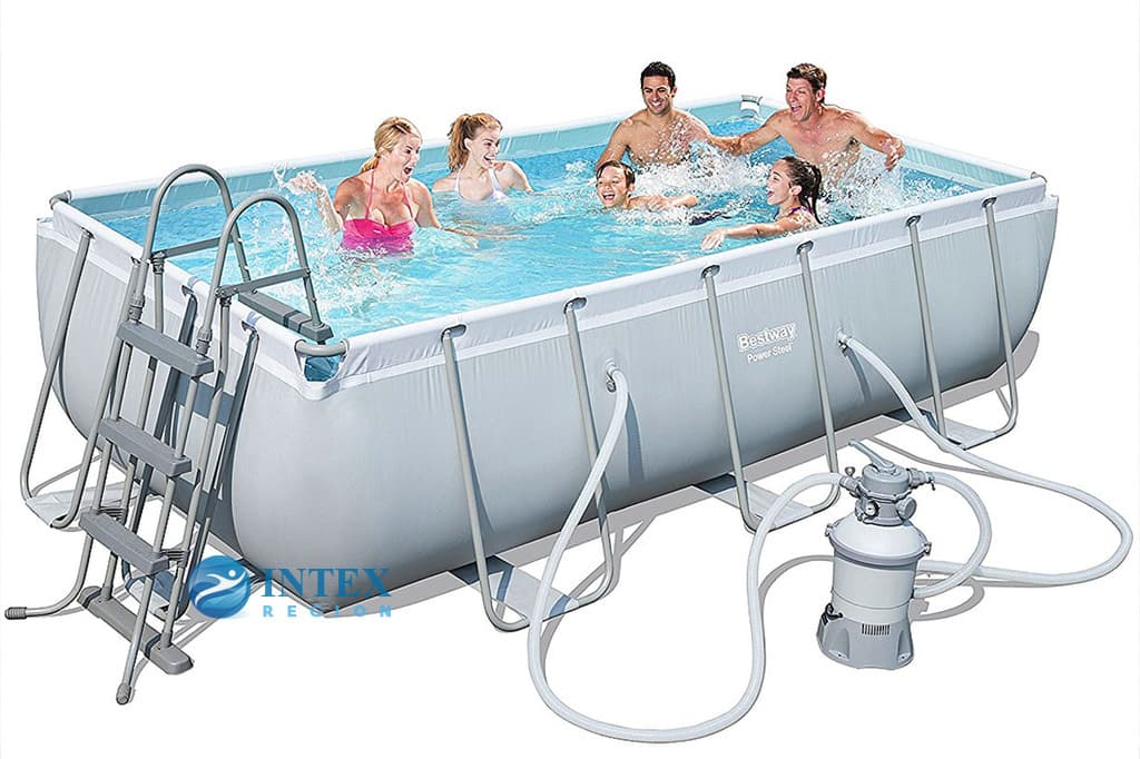 Бассейн каркасный Bestway Rectangular Frame Pool - 56442 404х201х100 см
