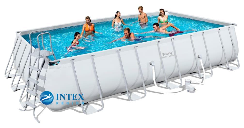 Бассейн каркасный Bestway Rectangular Frame Pool - 56470.56272 671х366х132 см
