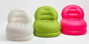 68592 Надувное кресло Mode Chair, 84х99х76см, 3 цвета