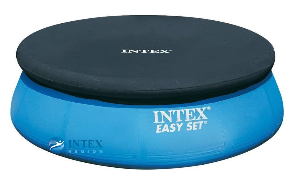 Тент-покрывало Intex 28021 для круглых надувных бассейнов 305 см
