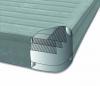 64414 Надувная кровать Comfort-Plush 152х203х46см, встроенный насос 220V