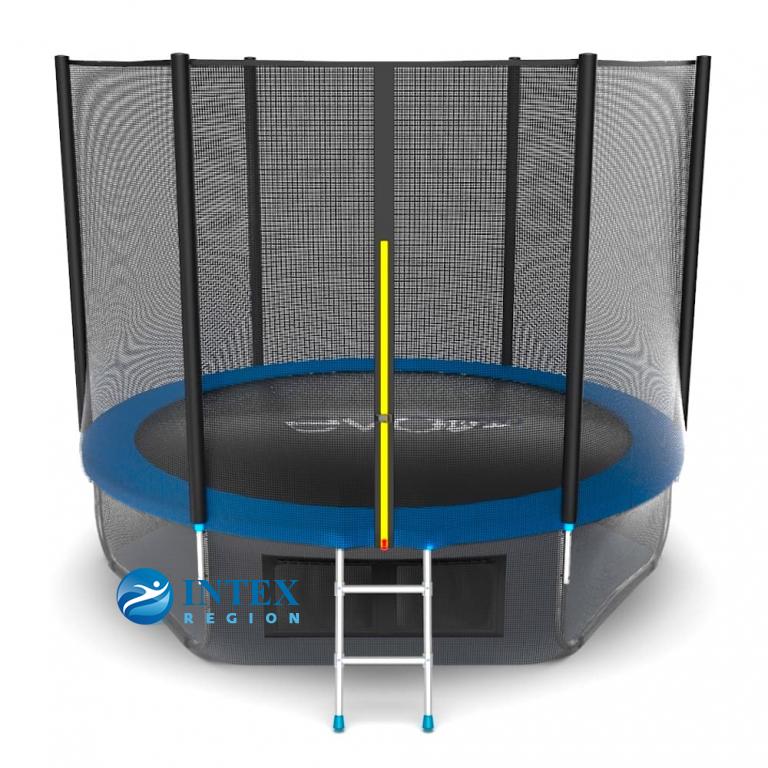 Батут EVO JUMP External 10ft (Blue) + Lower net