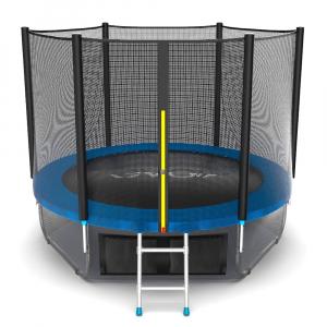 Батут EVO JUMP External 8ft (Blue) + Lower net