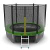 Батут EVO JUMP External 8ft (Green) + Lower net