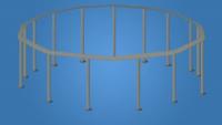 Каркас для бассейна ULTRA FRAME 488x122