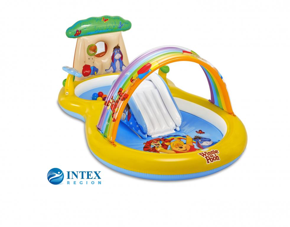 Игровой центр Винни-Пух Intex арт.57136 282x173x107 см