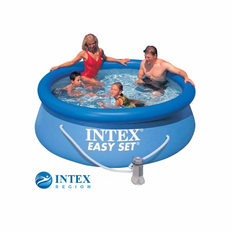 Бассейн надувной Intex Easy Set Pool - 28112.56972 244x76 см