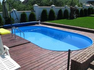 Сборный бассейн Summer Fun 4501010160KB овальный 700х300х150 см