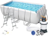 Каркасный бассейн Bestway 56457 412х201х122 Rectangular Power Steel Frame