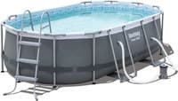 Каркасный бассейн Bestway 56620 427х250х100 Oval Power Steel Pool