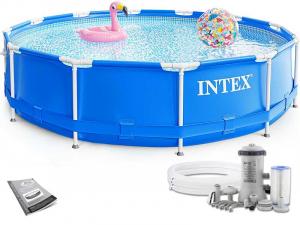 Каркасный бассейн Intex 28212 366х76 Metal Frame