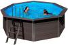 Композитный круглый бассейн 410х124 см GRE KPCO41