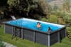 Композитный прямоугольный бассейн 674х368х124 см GRE KPCOR60